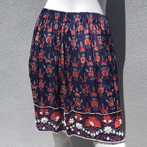 Anthropologie Skirts - ANTHROPOLOGIE MAEVE Beaded Skirt